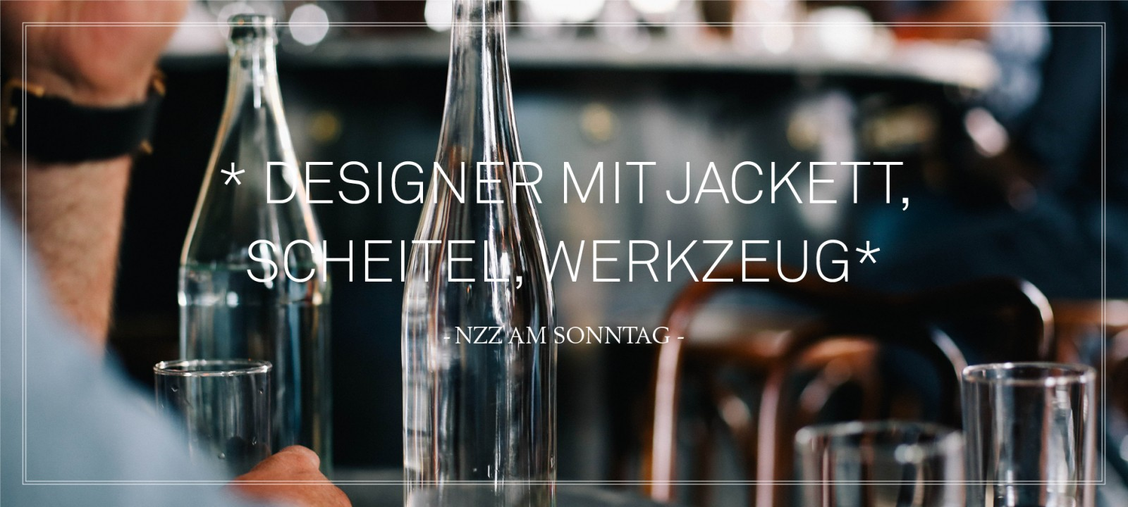 DYER-SMITH FREY - Interior & Branding - Zurich