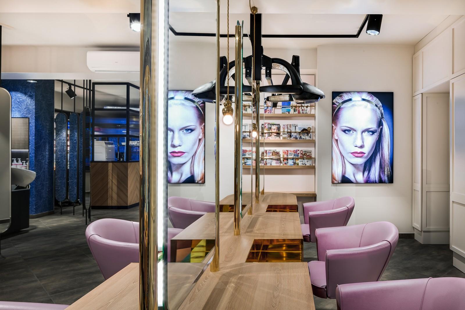 Dyer Smith Frey Interior Branding Zurich hairstylist seefeld dyer smith frey interior branding zurich