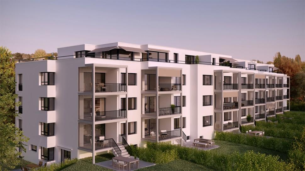 Apartment House Kappeliweg Projects Dyer Smith Frey